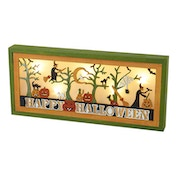 Light Up Happy Halloween Sign by Heaven Sends