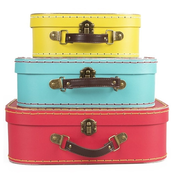 Sass & Belle Brights (Set of 3) Retro Suitcases