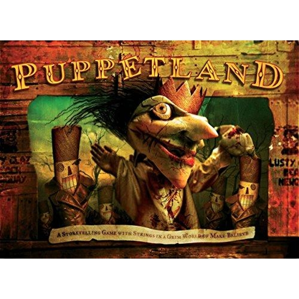 Puppetland: A Storytelling Game with Strings in a Grim World of Make-Believe