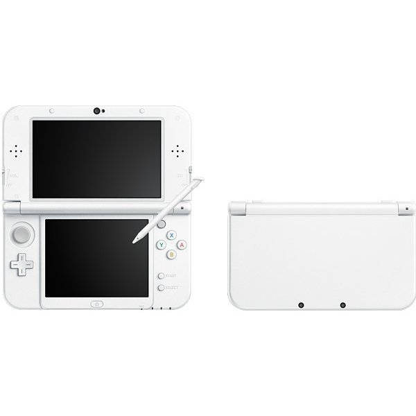 Ex-Display New 3DS XL Pearl White Console Used - Like New - Image 2