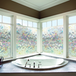 3D Glass Privacy Window Film | Pukkr 90cmx200cm - Image 4