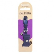 Rosewood Bow Tie Navy Designer Cat Collar