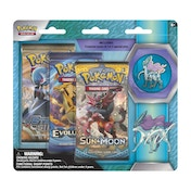 Pokemon TCG Suicune Collector's Pin 3 Pack Blister