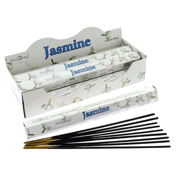 Jasmine (Pack Of 6) Stamford Hex Incense Sticks