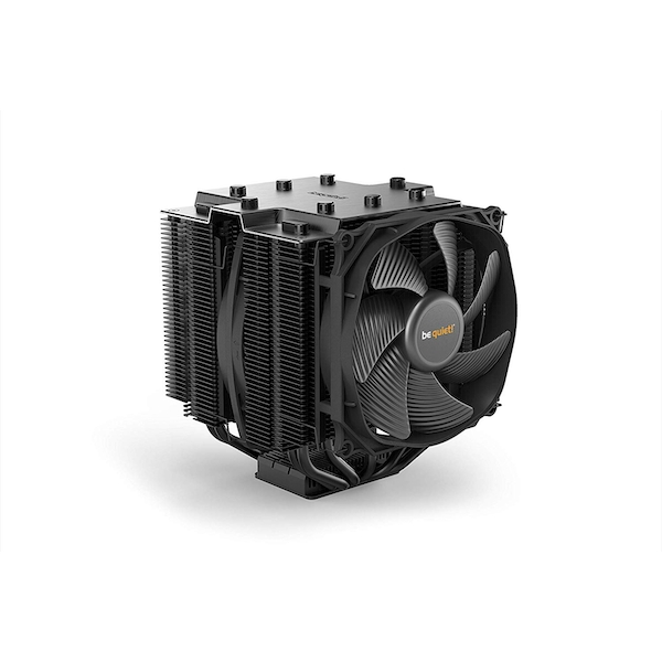 Be Quiet! BK023 Dark Rock Pro4 TR4 Heatsink & Fan, AMD TR4 Socket Only, Dual Silent Wings Fans, Fluid Dynamic