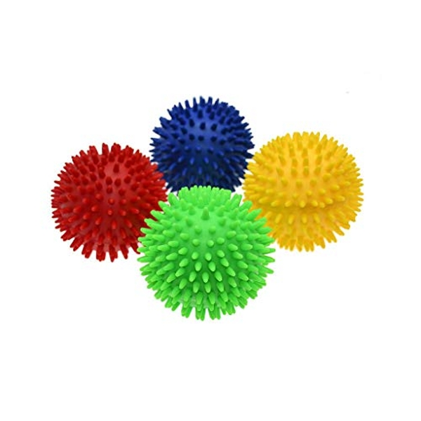 Pre-Sport Unisex-Youth Soft Touch Spike Ball, Yellow, 100mm