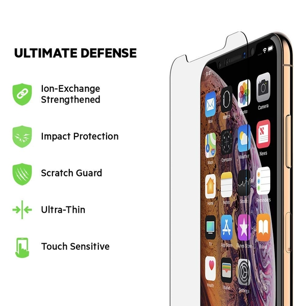 Belkin ScreenForce InvisiGlass Ultra Screen Protection for iPhone XS/X