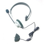 ORB Wired Headset White Xbox 360