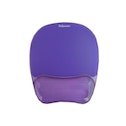 Fellowes Wrist Rest/Mouse Pad Purple - 91441