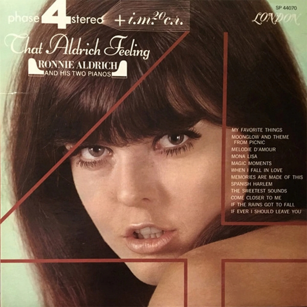 Ronnie Aldrich And His Two Pianos – That Aldrich Feeling Vinyl