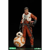 Poe Dameron & BB-8 (Star Wars) ArtFX Two Figure Pack