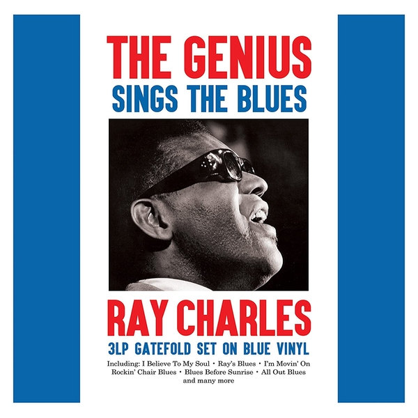 Ray Charles - The Genius Sings The Blues Blue Vinyl
