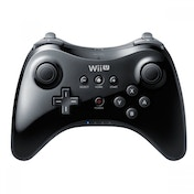 Ex-Display Official Nintendo Pro Controller Black Wii U Used - Like New