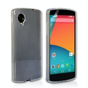 YouSave Accessories LG Nexus 5 Silicone Gel Case - Clear