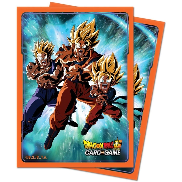 Ultra Pro Dragon Ball Super Standard Deck Protector Sleeves V3 (65 Sleeves)