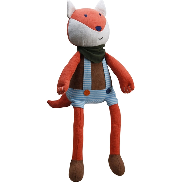 Mr Fox Woven Fabric Plush