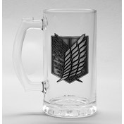 Attack on Titan - Scout Symbol Glass Stein