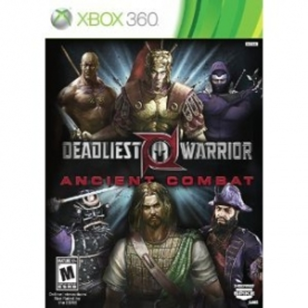 deadliest warrior ancient combat game xbox 360