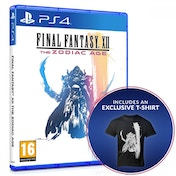 Final Fantasy XII The Zodiac Age PS4 Game + Exclusive T-Shirt