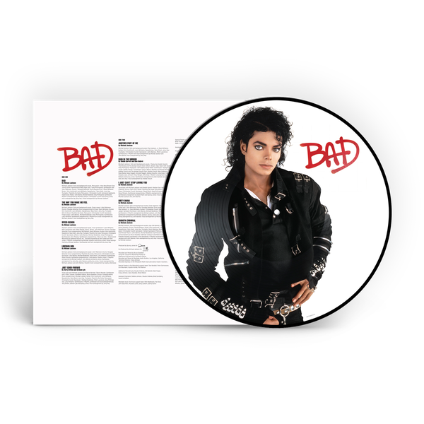 Michael Jackson - Bad Limited Edition Picture Disc Vinyl