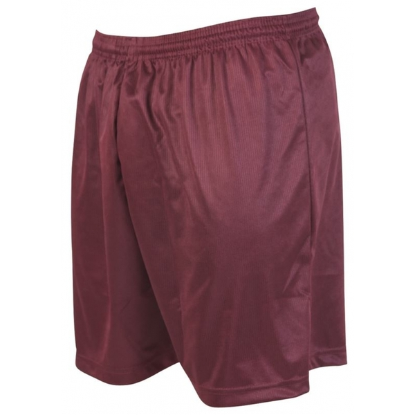 Precision Micro-stripe Football Shorts 42-44 inch Maroon