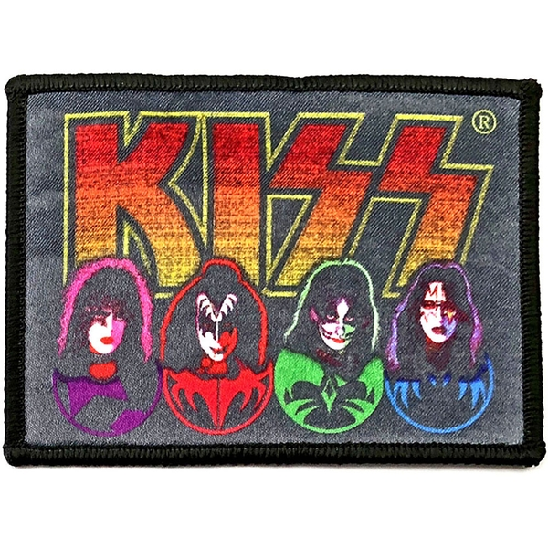 KISS - Faces & Icons Standard Patch