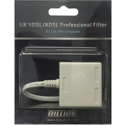 Billion UK VDSL/ADSL Professional Filter, BT SIN 498 compliant (White)