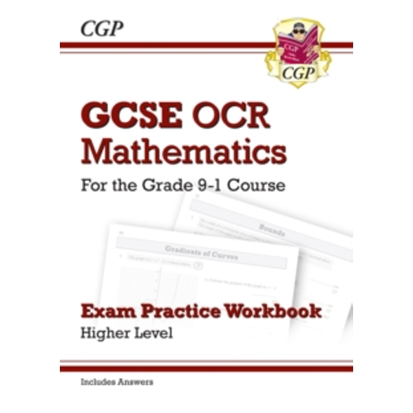 New GCSE Maths OCR Exam Practice Workbook: Higher - For the Grade 9-1 Course (Includes Answers) by CGP Books (Paperback, 2015)
