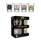 Guns N Roses Mic Shot Glasses