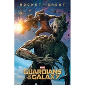 Guardians Of The Galaxy (rocket & Groot) Maxi Poster