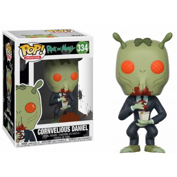 Cornvelious Daniel (Rick and Morty) Pop! Vinyl Figure
