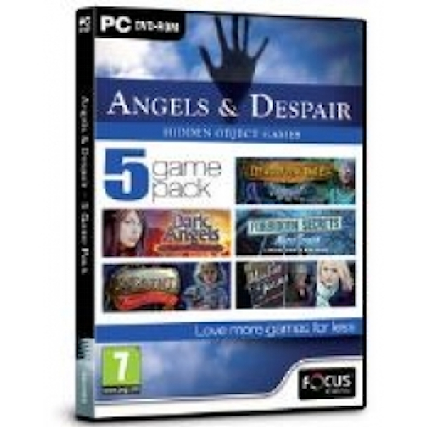 Focus Multimedia Angels and Despair - 5 Game Pack Hidden Object Game for PC (DVD-ROM)