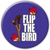 Flip The Bird Badge
