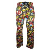 The Simpsons 'Biff Pow' Loungepants Large One Colour