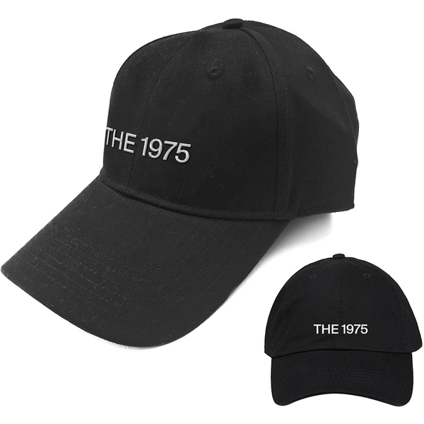 The 1975 - Logo Men's Baseball Cap - Black