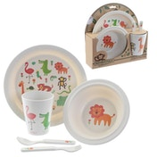 Zoo Design Picnic Set Bambootique Eco Friendly