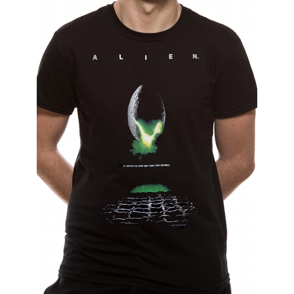 Alien - Poster Men's Large T-Shirt - Black