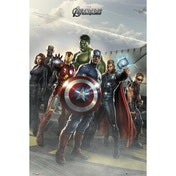 The Avengers Airbase Maxi Poster