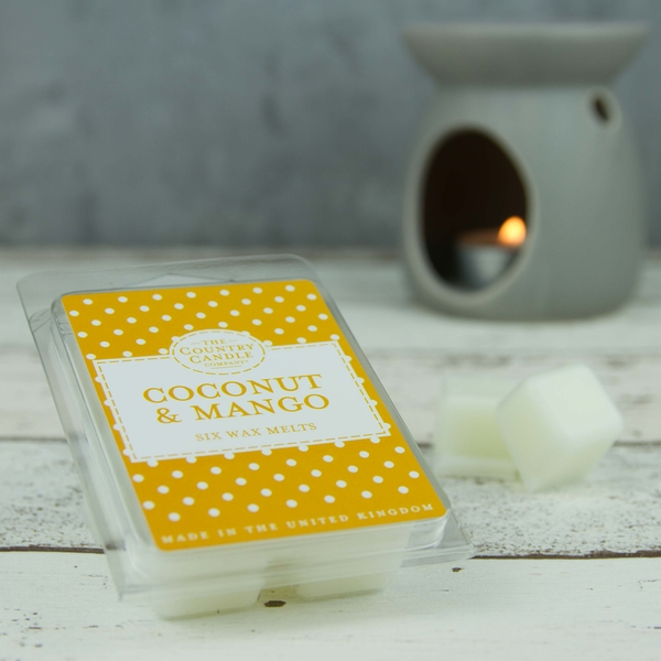 Coconut & Mango (Polka Dot Collection) Wax Melt