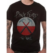Pink Floyd - The Wall Logo Unisex Large T-Shirt - Black