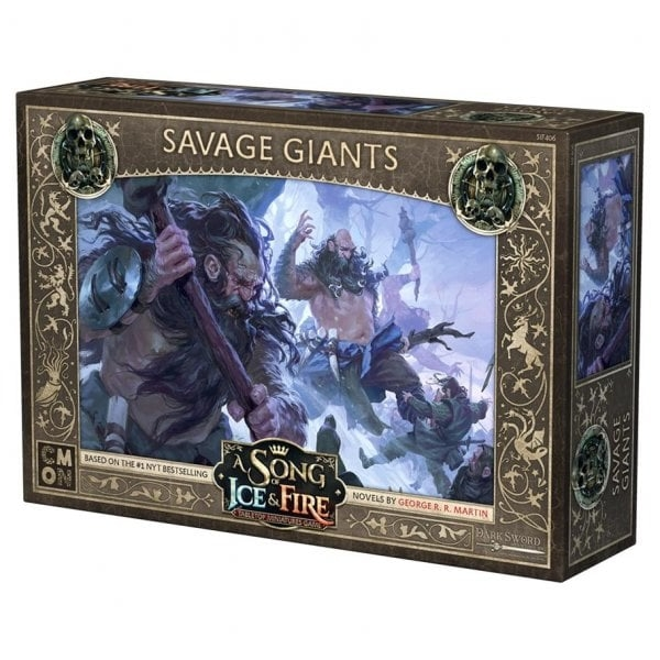 A Song Of Ice and Fire: Free Folk Savage Giants Expansion
