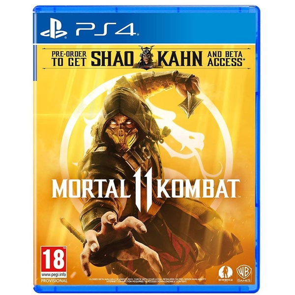 Mortal Kombat 11 PS4 Game (with Shao Kahn DLC)