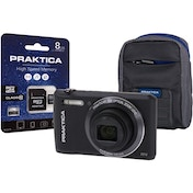 PRAKTICA Luxmedia Z212 Black Camera Kit inc 8GB Micro SD Card & Case