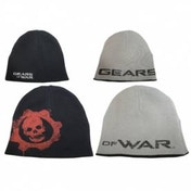 Gears of War Black/Grey Reversable Beanie