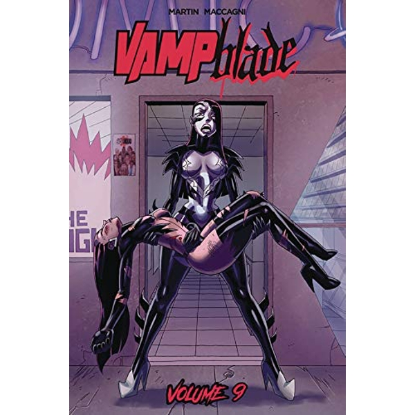 Vampblade Volume 9: It's the End of the World... AGAIN