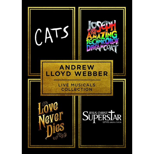 Andrew Lloyd Webber - Live Musicals Collection DVD