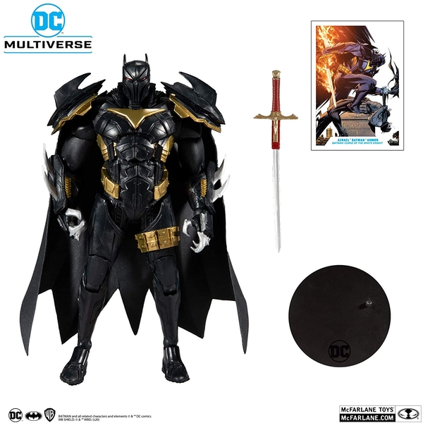 McFarlane Toys DC Multiverse Azrael in Batman Armor Curse of The White Knight Action Figure