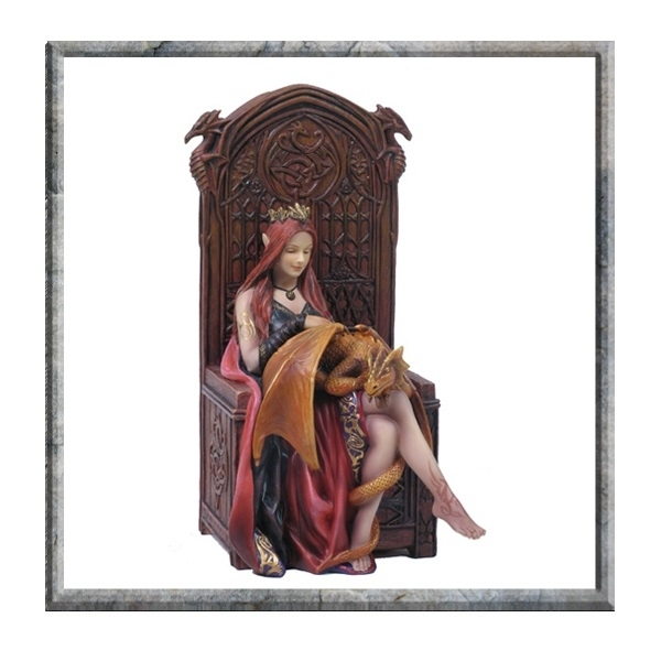 Anne Stokes Friends Forever Figurine