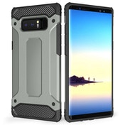 Caseflex Samsung Galaxy Note 8 Armoured Shockproof Carbon Case - Steel Blue