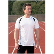 PT S/S Running Shirt White/Black 42-44 inch